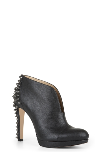BCBGMAXAZRIA VERONICA STUDDED ANKLE BOOT