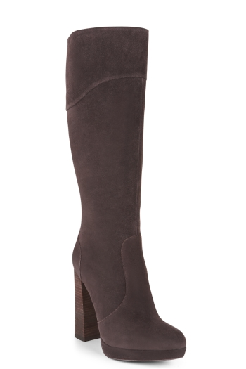 BCBGMAXAZRIA CHARLIZE TALL SUEDE HIGH-HEEL BOOT