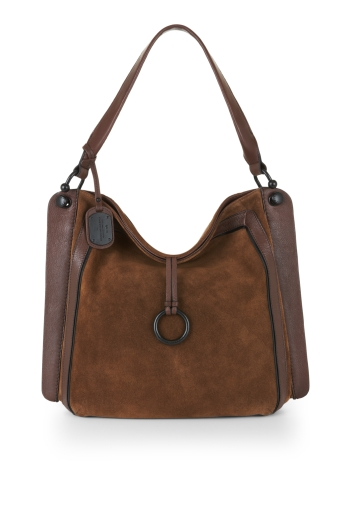 BCBGMAXAZRIA AMELIE SIGNATURE UPDATE SHOULDER BAG
