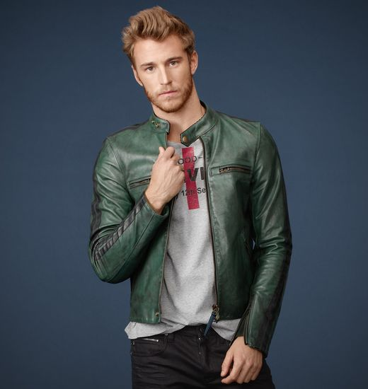 BELSTAFF MEN MANX JACKET Emerald/Black