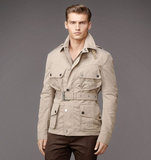 BELSTAFF MEN BRADBURN JACKET Sand