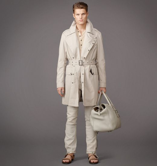 BELSTAFF MEN BROADSTONE COAT Pale Stone