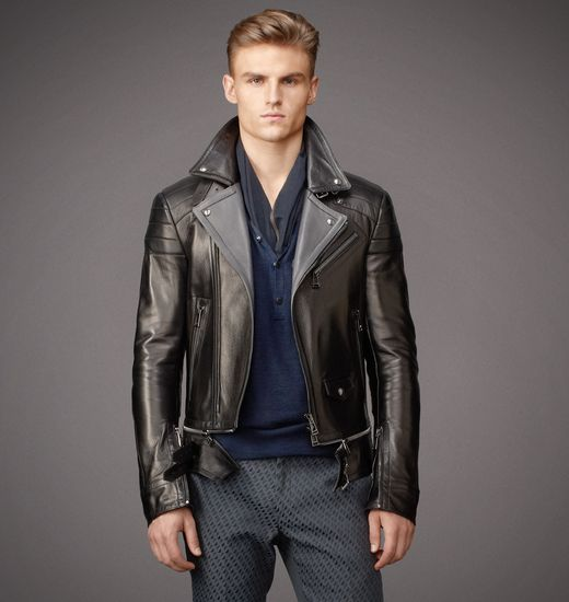 BELSTAFF MEN COLWYN JACKET Black/Dark Charcoal