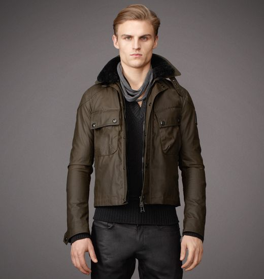 BELSTAFF MEN BLACKWOOD BLOUSON Faded Olive