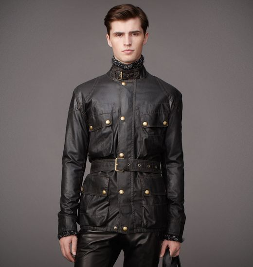 BELSTAFF MEN SAMMY MILLER JACKET Black
