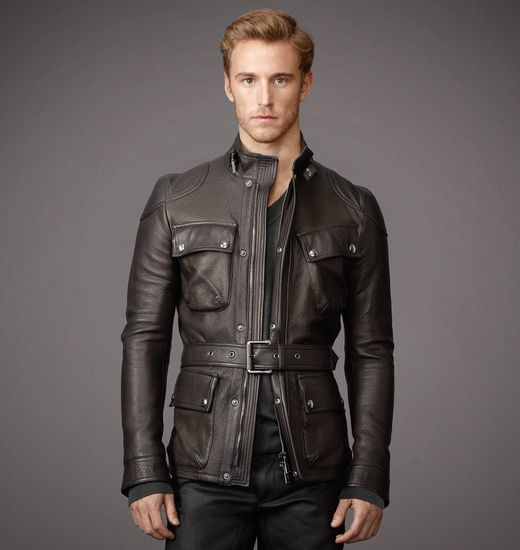 BELSTAFF MEN CIRCUITMASTER JACKET Black