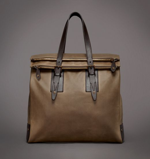 BELSTAFF MEN DORCHESTER LARGE BAG Olive