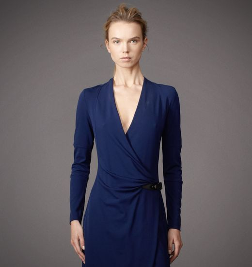 BELSTAFF WOMEN DELAMERE DRESS Oxford Blue