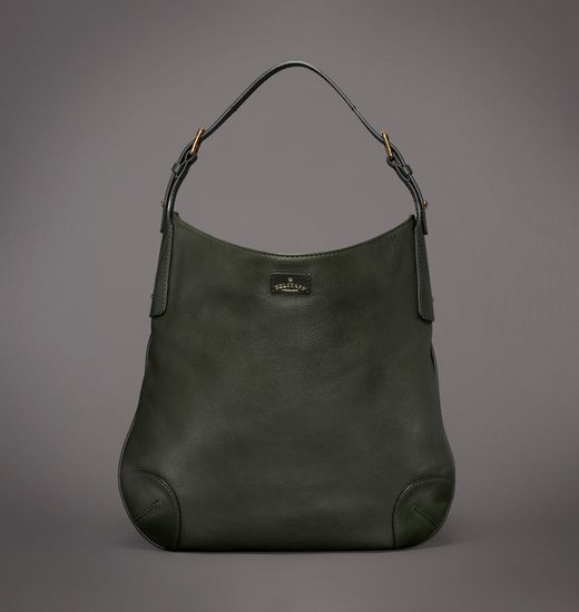 BELSTAFF WOMEN CLAYTON HANDBAG Racing Green