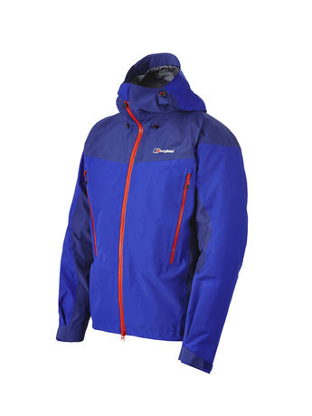 BERGHAUS MENS CIVETTA 3-LAYER GORE-TEX® PRO JACKET Intense Blue / Twilight Blue