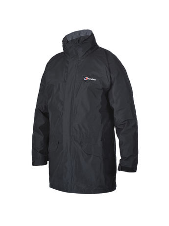 BERGHAUS MENS LONG CORNICE II GORE-TEX® JACKET Black