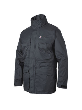 BERGHAUS MENS TORNADO WATERPROOF JACKET Black