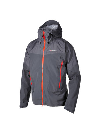 BERGHAUS MENS MOUNT ASGARD STRETCH GORE-TEX® ACTIVE JACKET Carbon