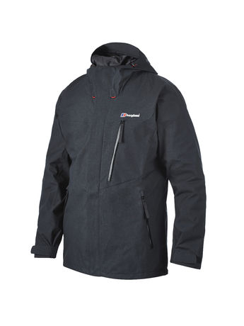 BERGHAUS MENS RUCTION WATERPROOF JACKET Black