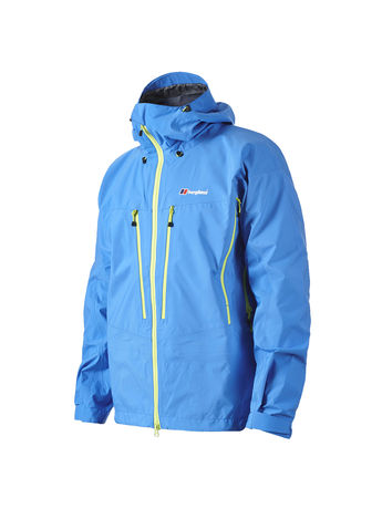 BERGHAUS MENS ANTELAO 3 LAYER GORE-TEX® PRO JACKET Blue Aster