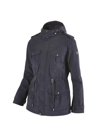 BERGHAUS WOMENS PARHAM WATERPROOF JACKET Blue Black