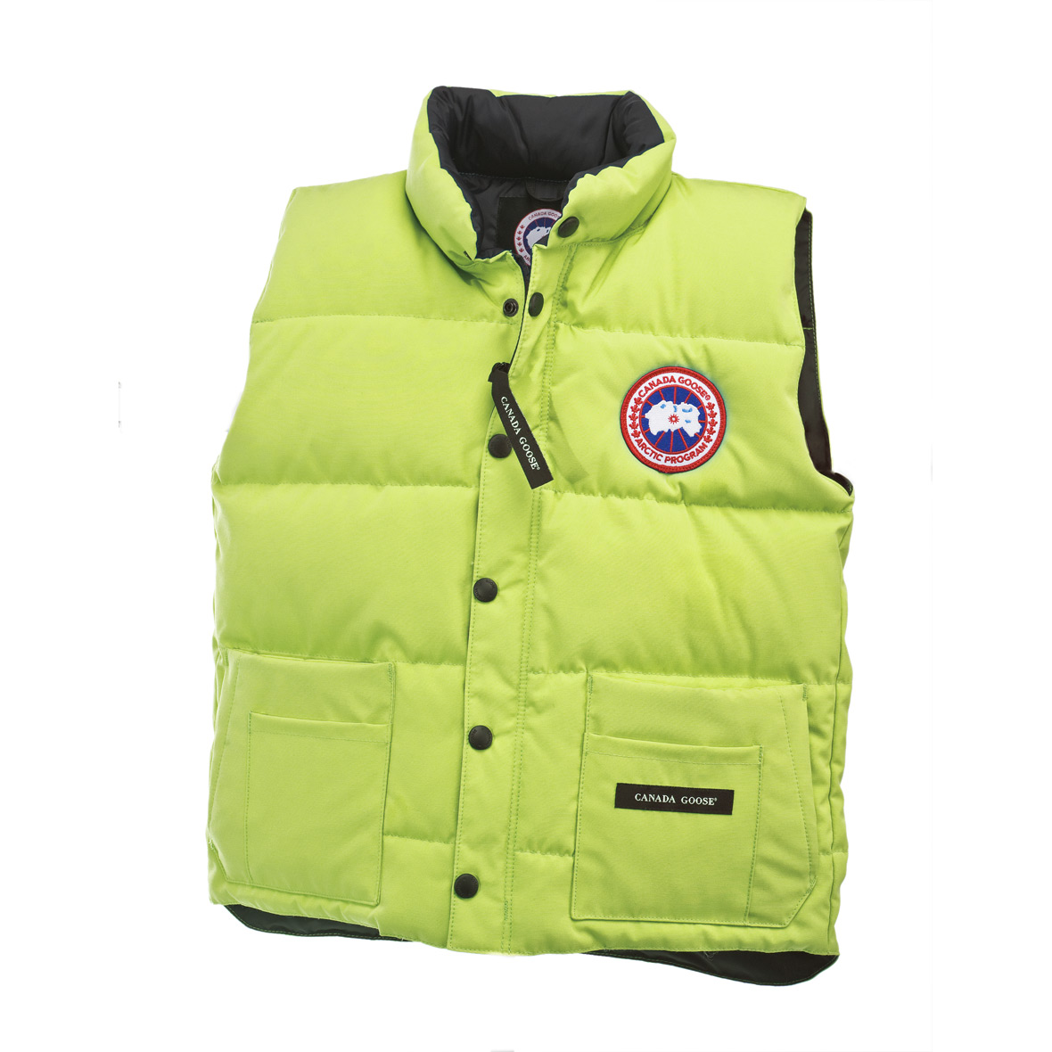 Canada Goose Junior [4-20] Freestyle Vest AURORA GREEN