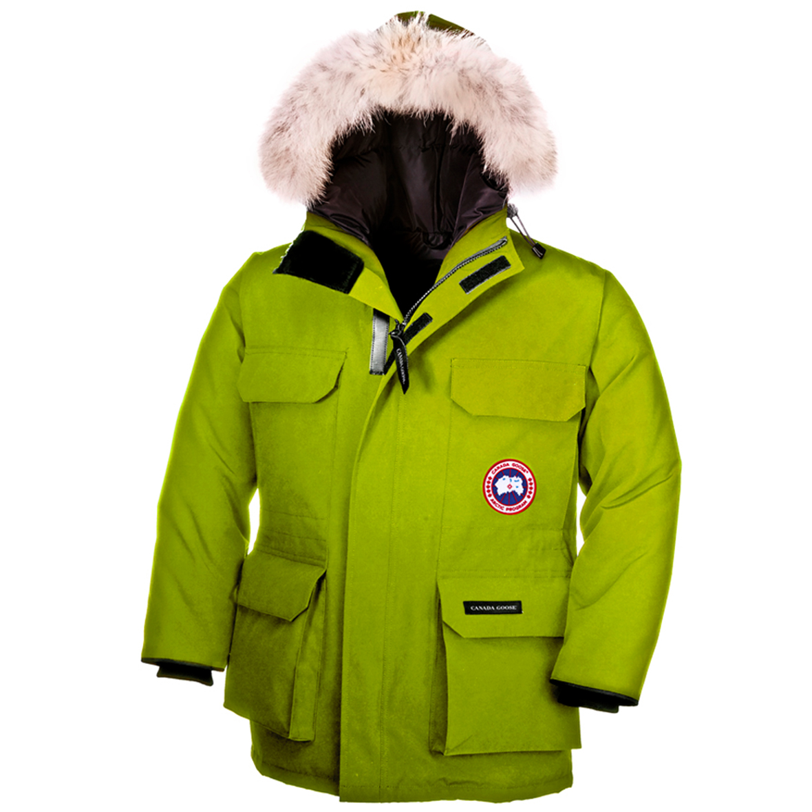 Canada Goose Junior [4-20] Expedition Parka AURORA GREEN
