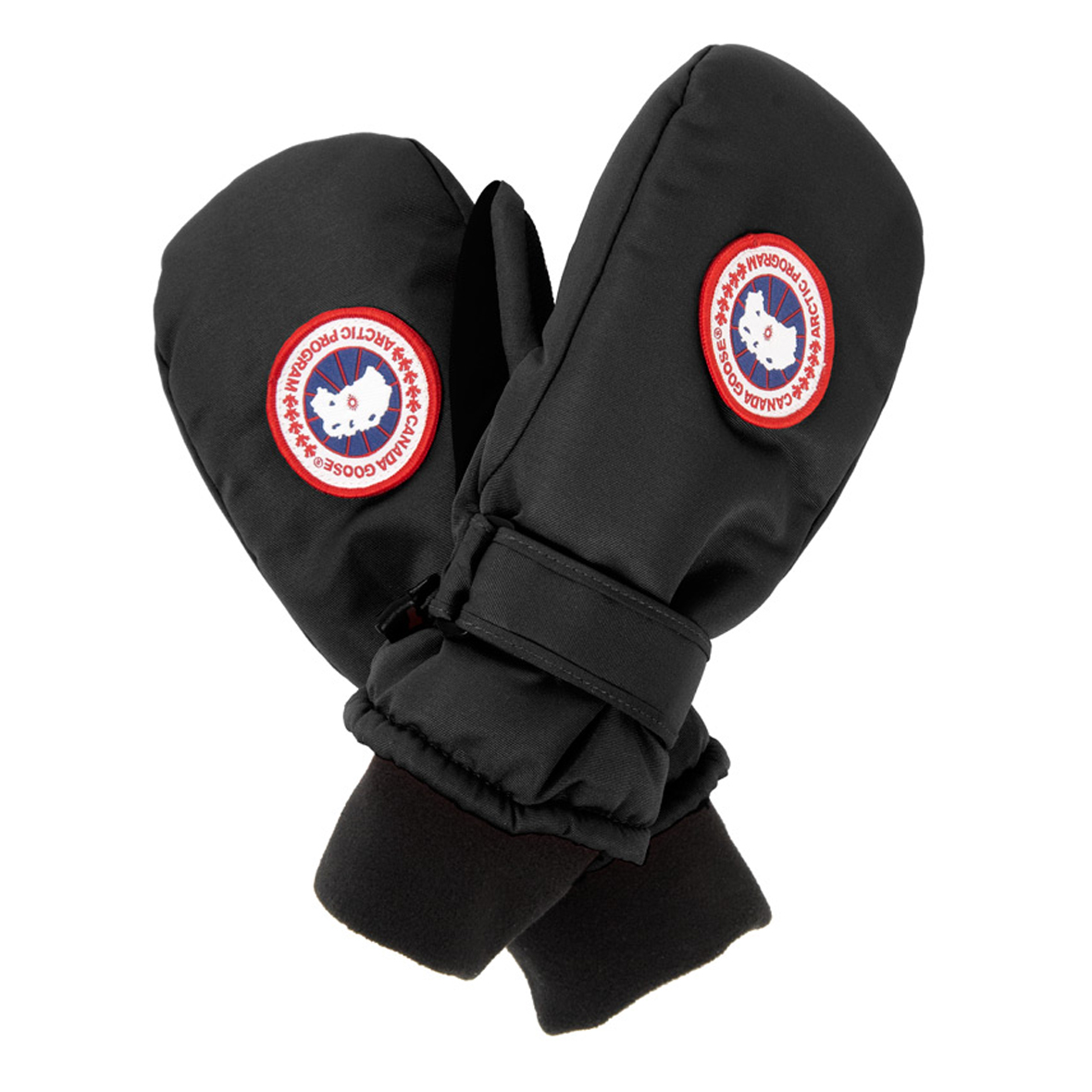 Canada Goose Youth Down Mitt BLACK