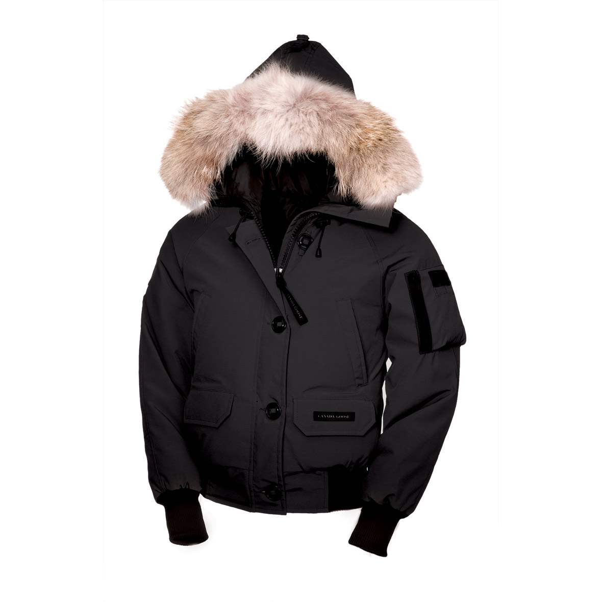 Canada Goose Chilliwack Bomber BLACK For Women