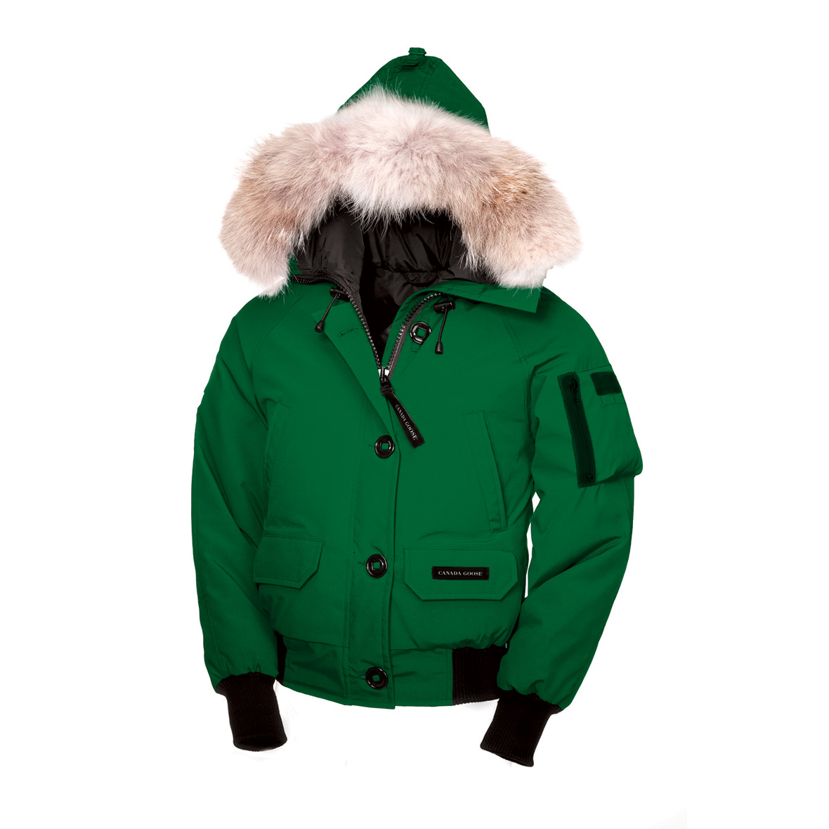 Canada Goose Chilliwack Bomber CELTIC GREEN For Women
