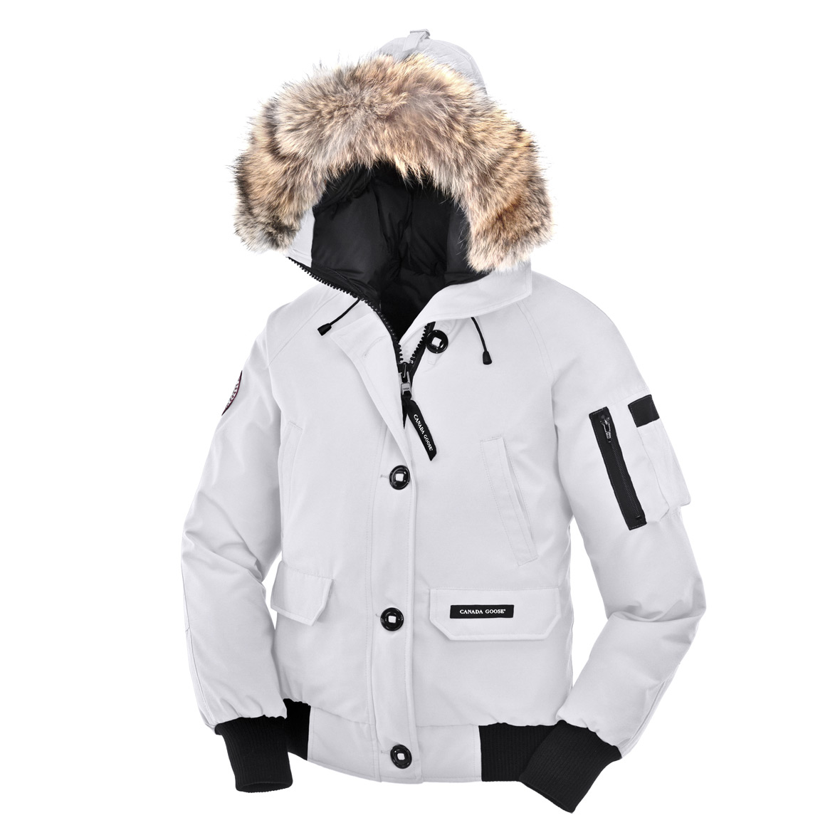 Canada Goose Chilliwack Bomber LIGHT GREY For Women