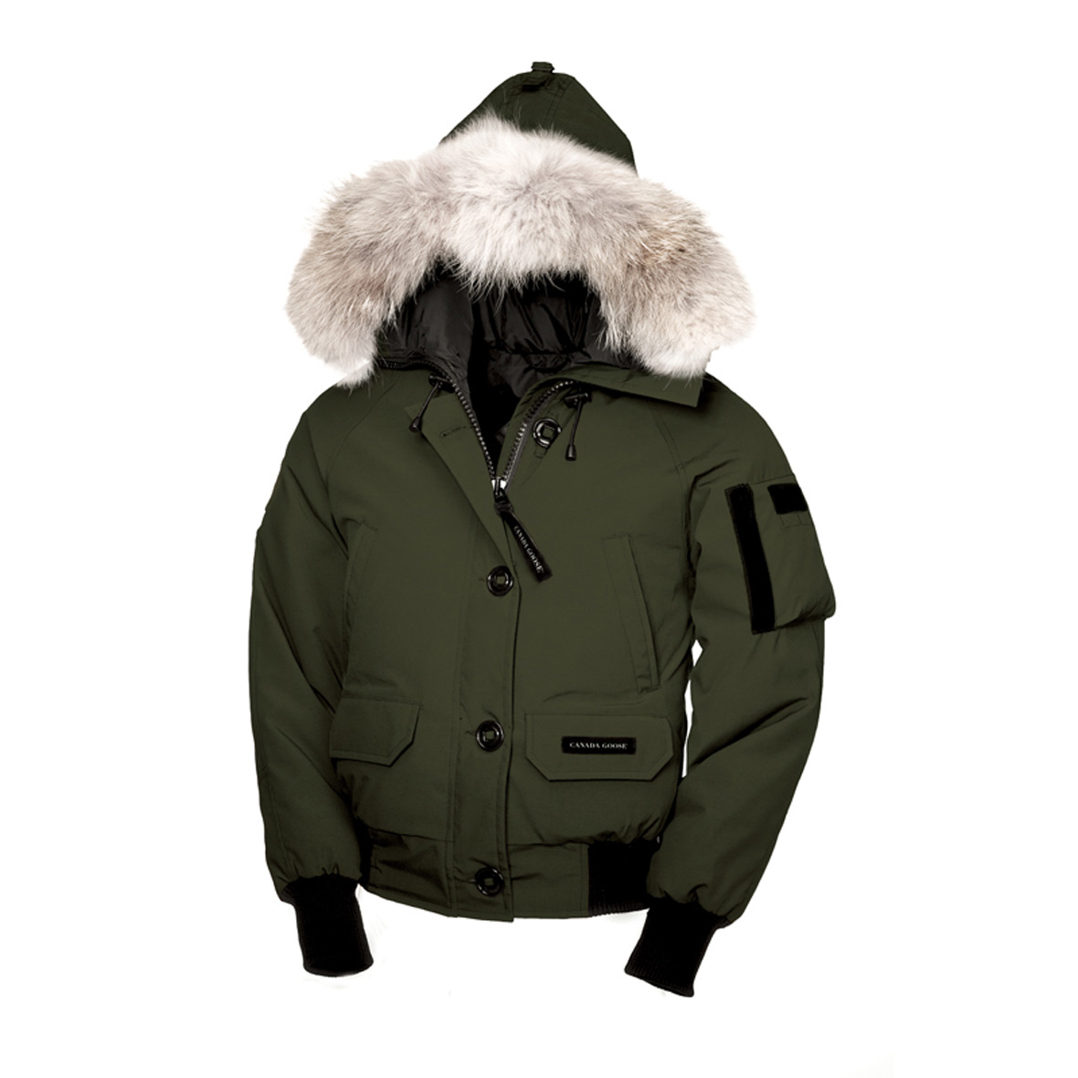 Canada Goose Chilliwack Bomber MILITARY GREEN For Women
