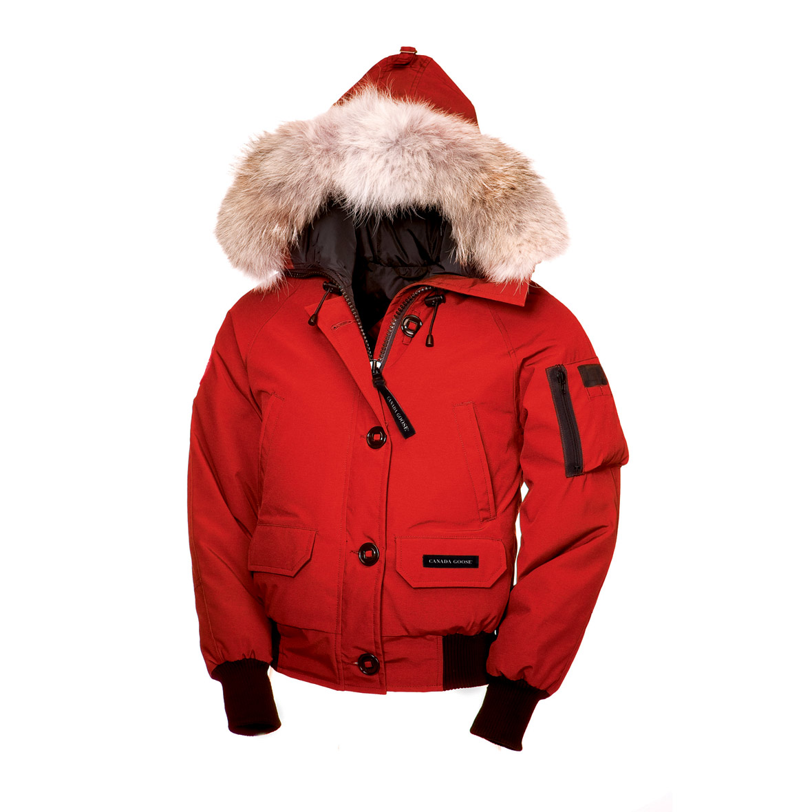 Canada Goose Chilliwack Bomber RED For Women