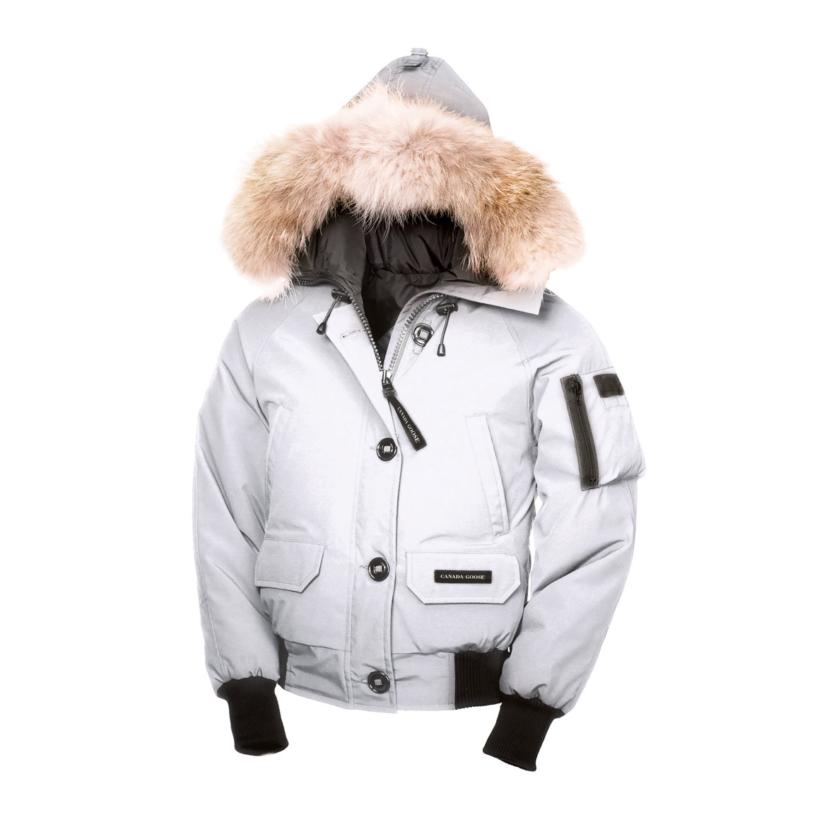 Canada Goose Chilliwack Bomber WHITE For Women