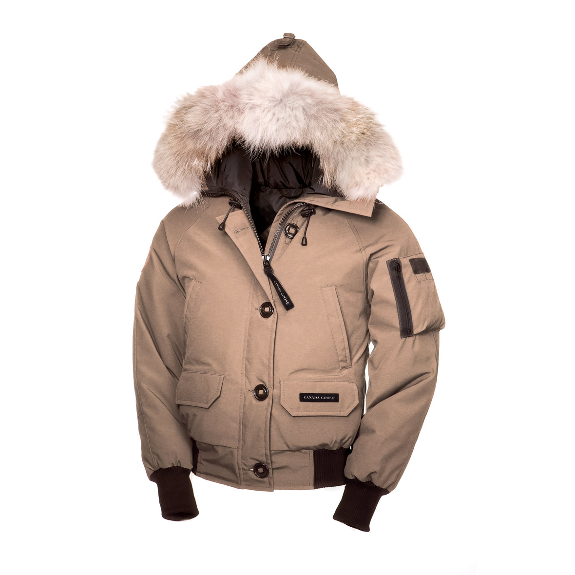 Canada Goose Chilliwack Bomber TAN For Women