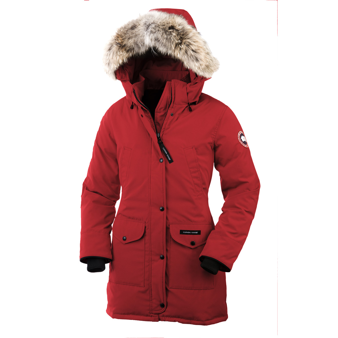 Canada Goose Trillium Parka RED For Women