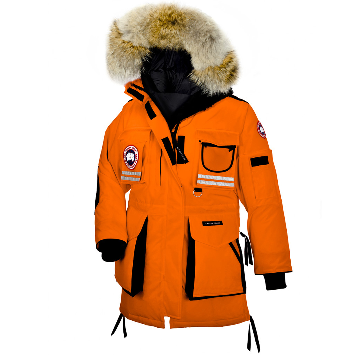 Canada Goose Snow Mantra Parka SUNSET ORANGE For Women