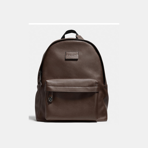 COACH CAMPUS backpack BLACK ANTIQUE NICKEL/DARK BROWN