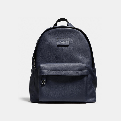 COACH CAMPUS backpack BLACK ANTIQUE NICKEL/MIDNIGHT