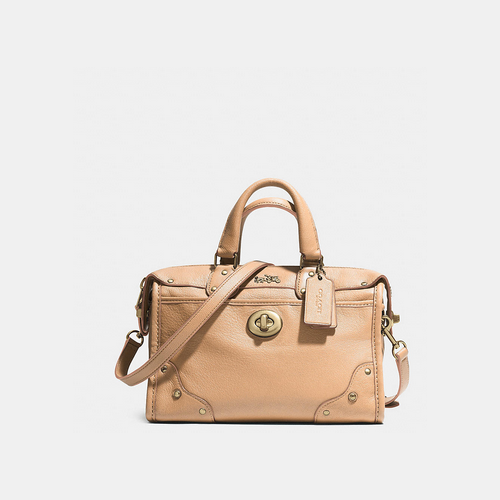 COACH RHYDER 24 satchel LIGHT GOLD/APRICOT