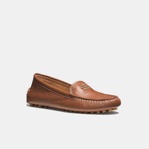 COACH NANCY loafer SADDLE