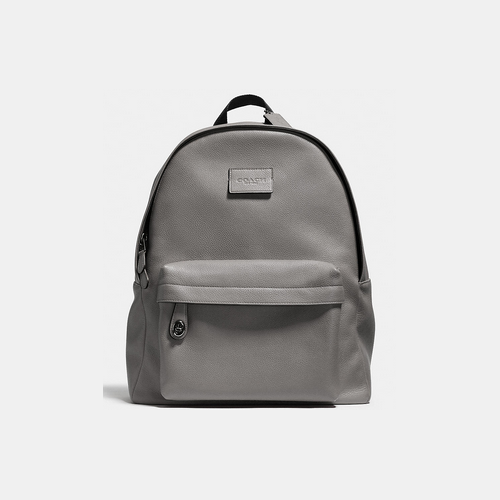 COACH CAMPUS backpack BLACK ANTIQUE NICKEL/ASH