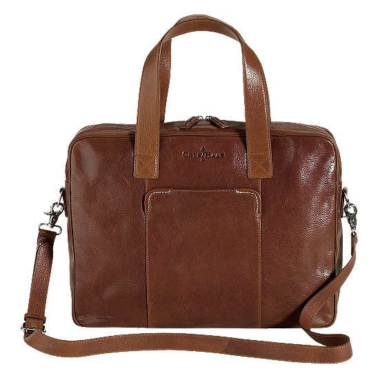 Cole Haan Merced Zip Top Brief Woodbury