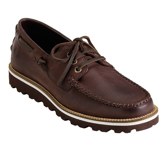 Cole Haan Air Bretton Boat Mahogany