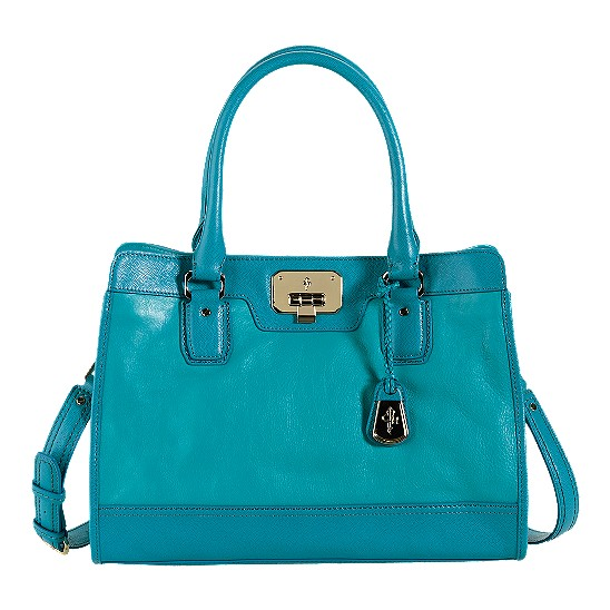 Cole Haan Vintage Valise Kendra E/W Tote Caribbean