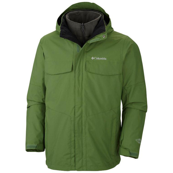 COLUMBIA MENS BUGABOO™ INTERCHANGE JACKET DARK BACKCOUNTRY