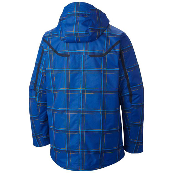 COLUMBIA MENS WHIRLIBIRD™ INTERCHANGE JACKET AZUL BLUE PRINT