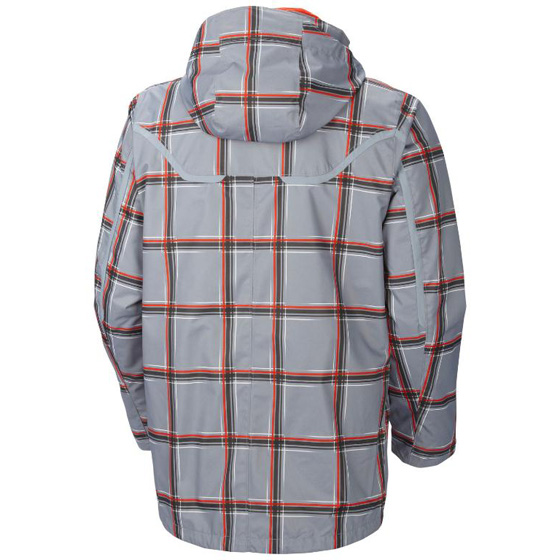COLUMBIA MENS WHIRLIBIRD™ INTERCHANGE JACKET TRADEWINDS GREY PRINT