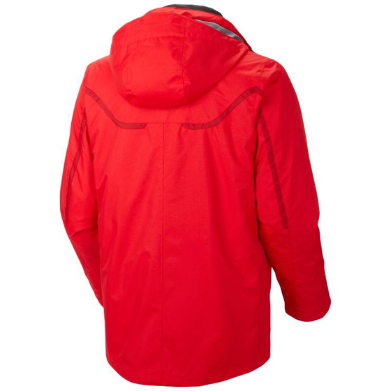 COLUMBIA MENS WHIRLIBIRD™ INTERCHANGE JACKET BRIGHT RED