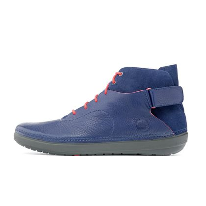 FITFLOP FLEX HI-TOP INKY BLUE
