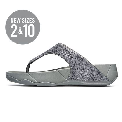 FITFLOP ASTRID PEWTER