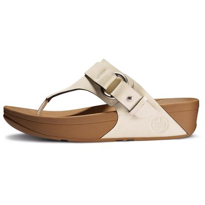 FITFLOP VIA LEATHER URBAN WHITE