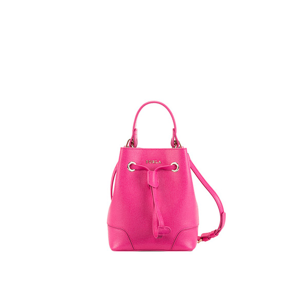 FURLA STACY DRAWSTRING PINKY