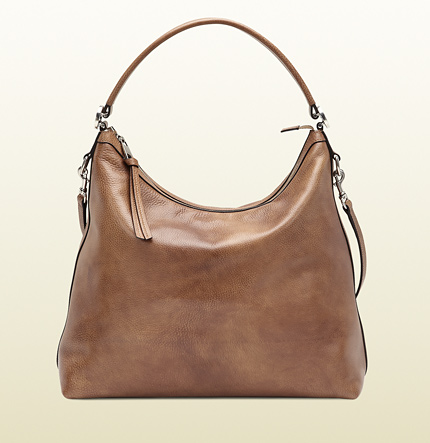 Gucci miss GG cuir leather hobo