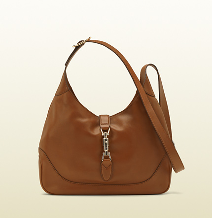 Gucci jackie cuir color leather shoulder bag